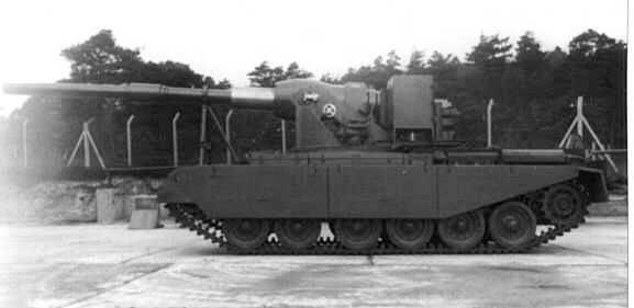 FV4005, limited        traverse