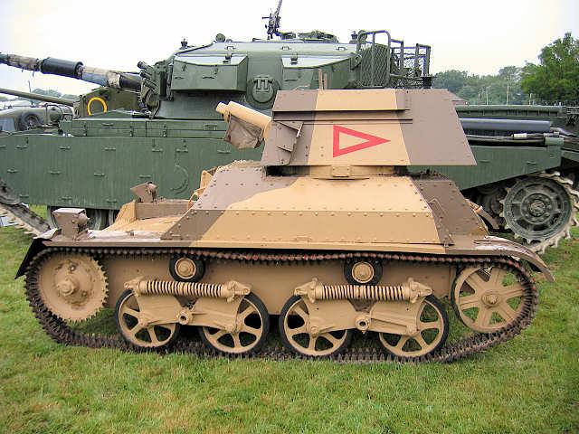 A4 Light Tank Mk Iia