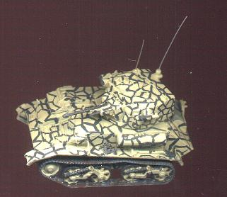Light        Tank Mk VIC Malta camouflage