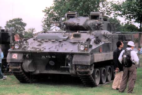 Warrior at Tankfest 2002